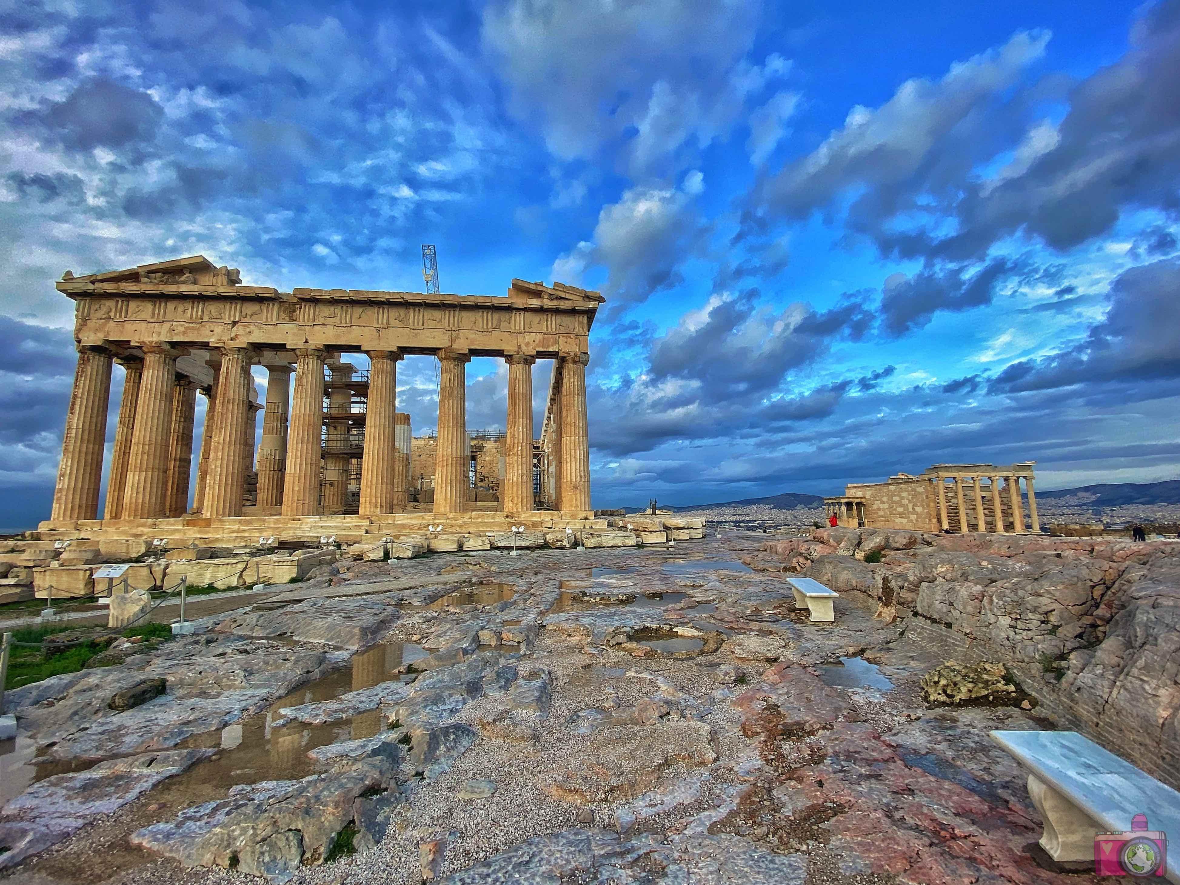 Acropoli Partenone Atene