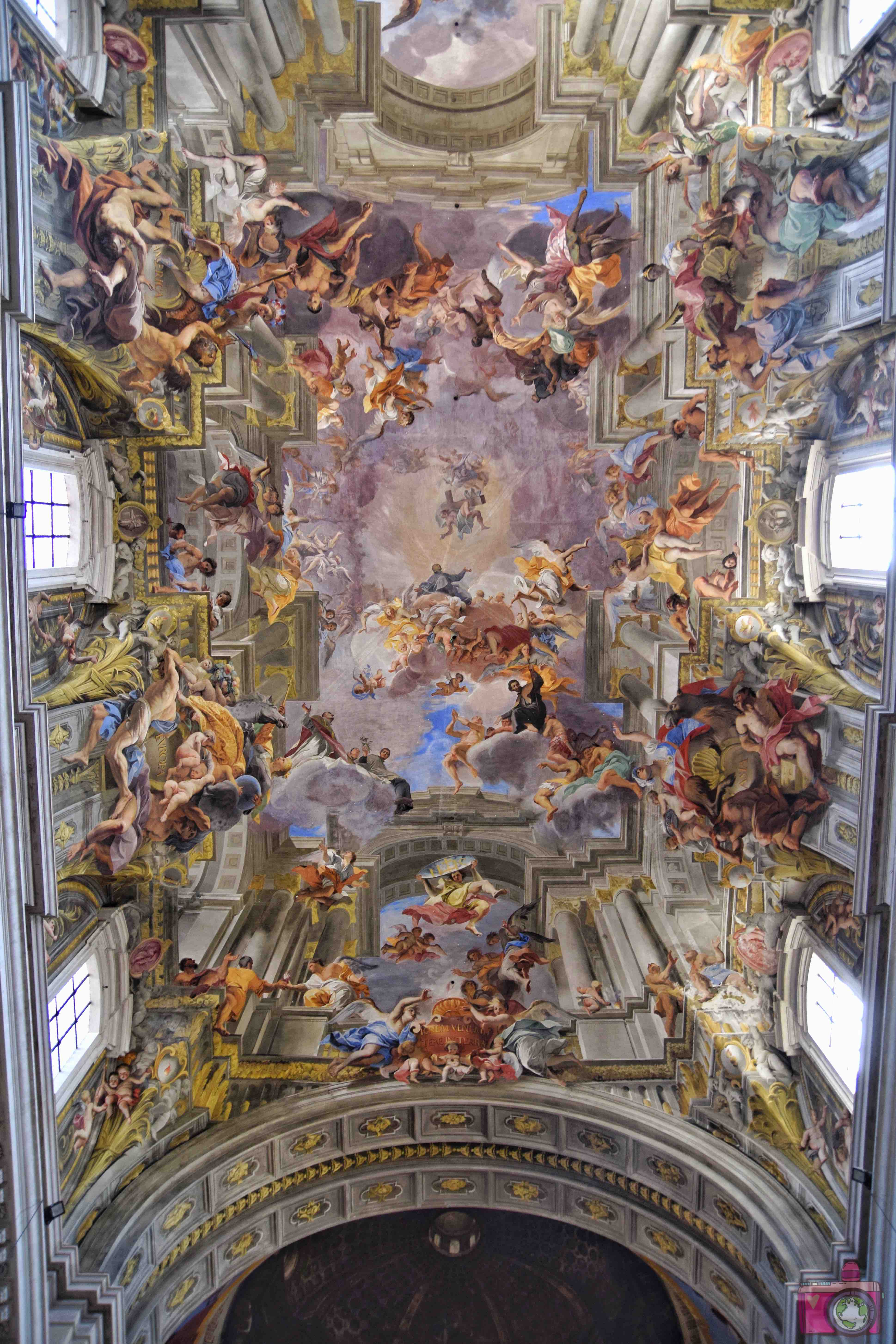 Cosa vedere a Roma Chiesa di Sant'Ignazio di Loyola