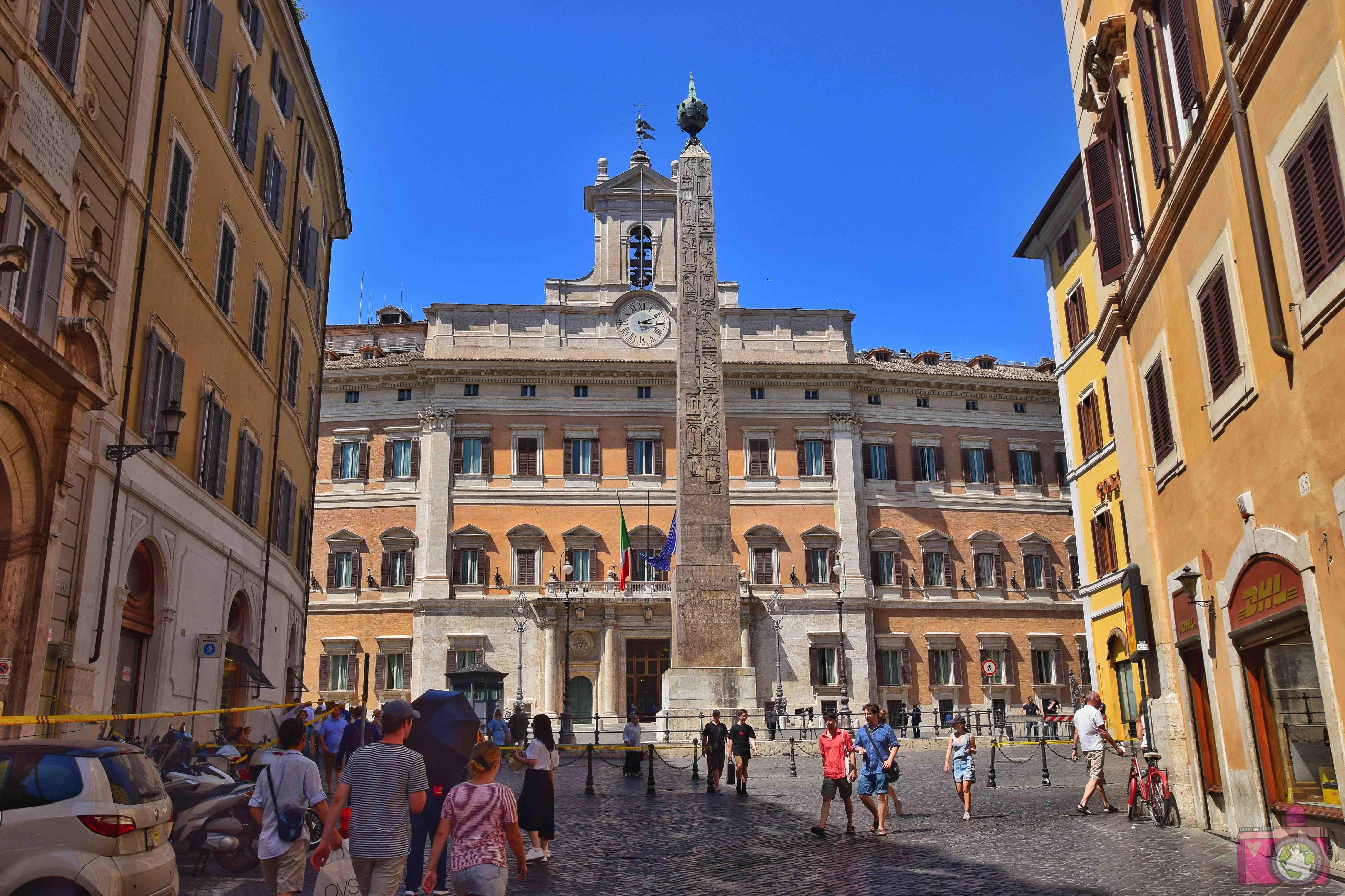 Cosa vedere a Roma Palazzo Montecitorio