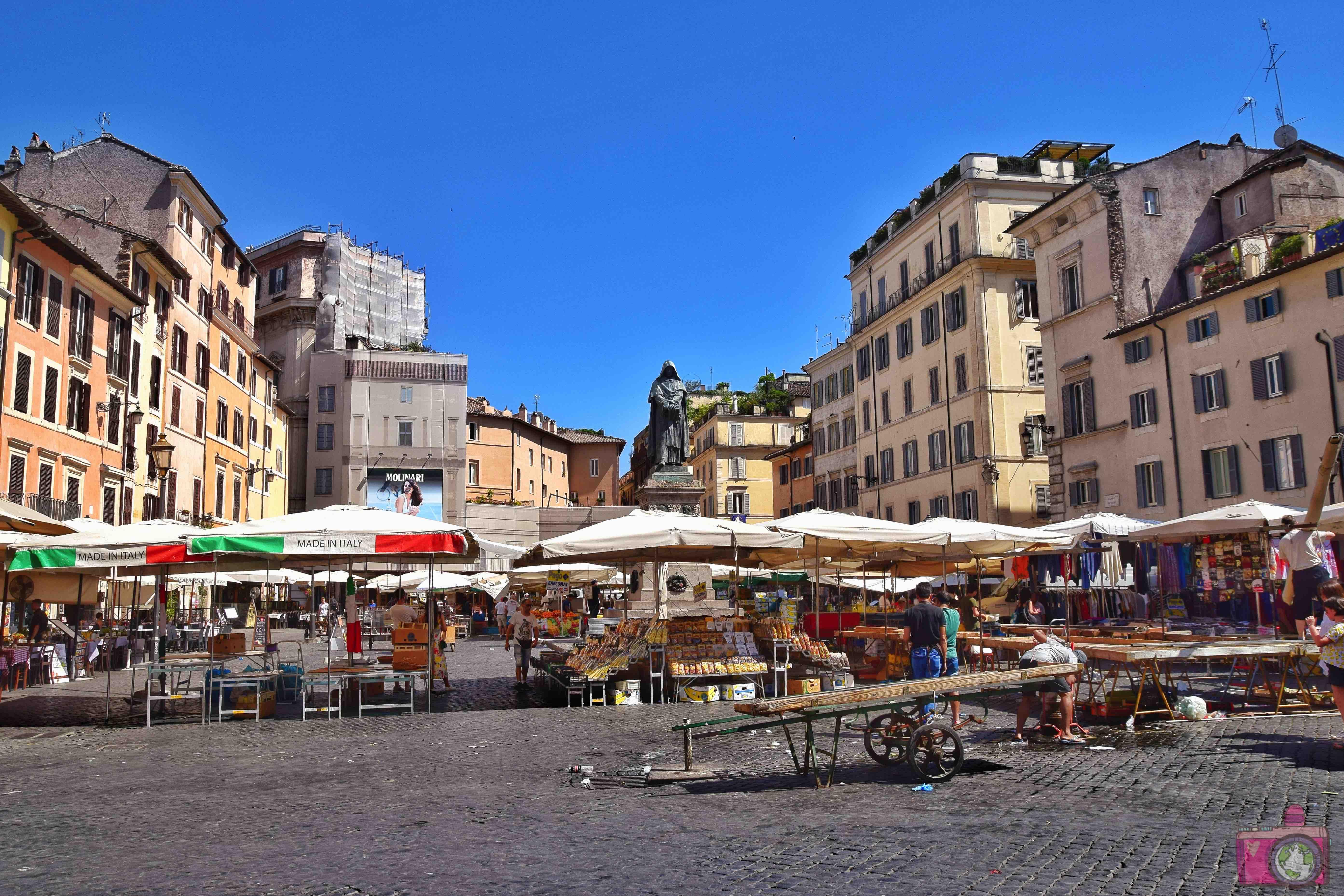 Cosa vedere a Roma Campo de Fiori