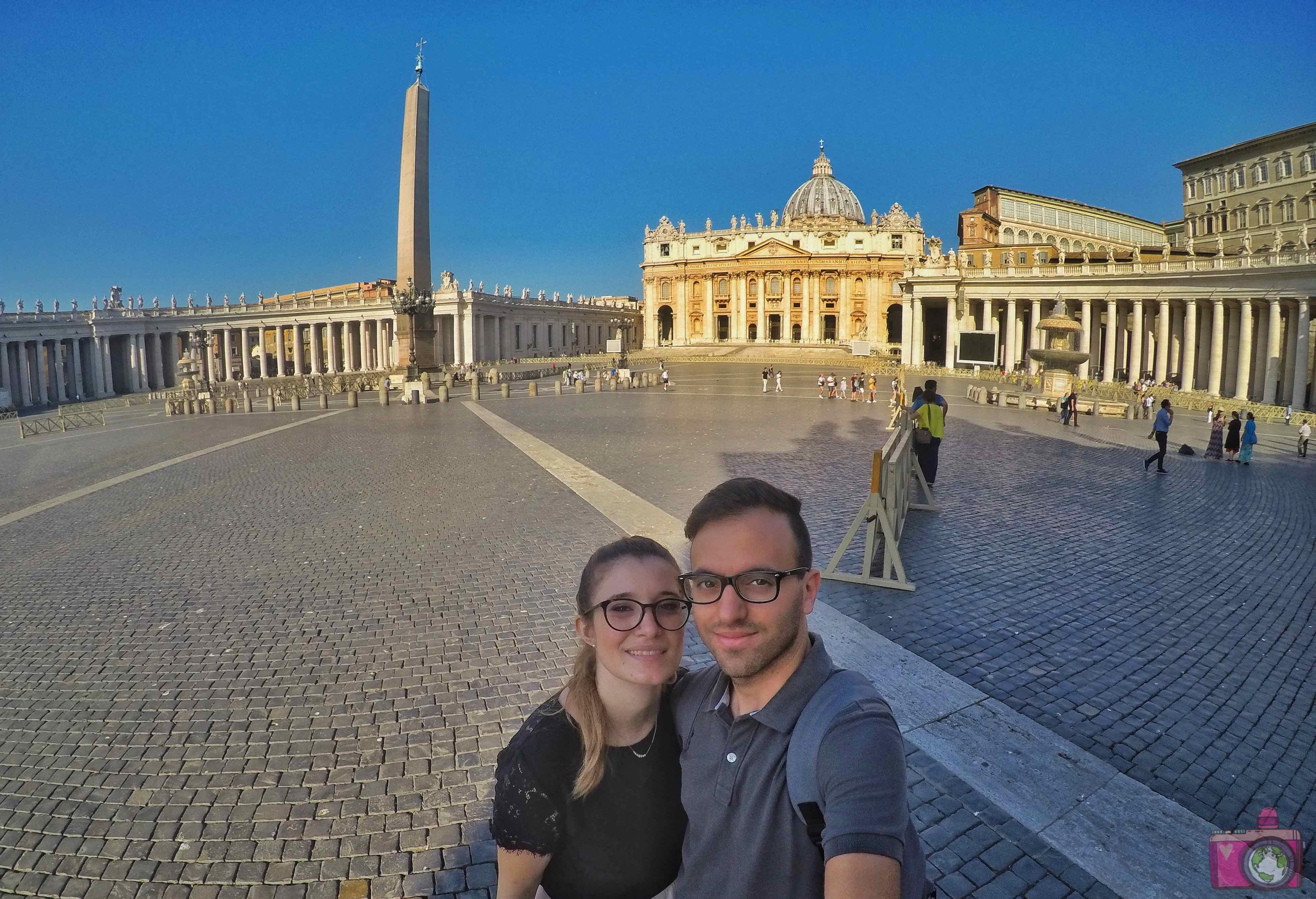 Cosa vedere nella Città del Vaticano Piazza San Pietro